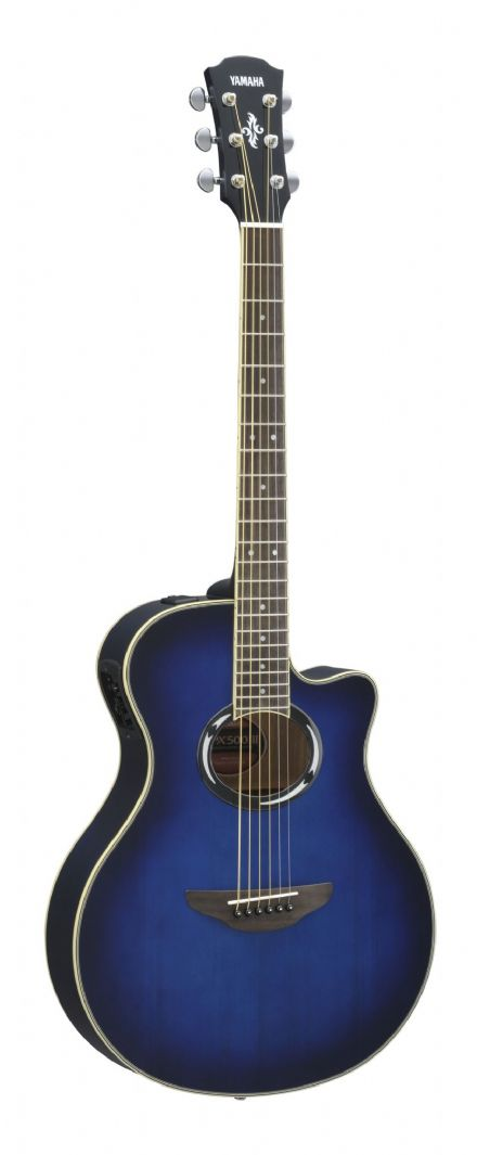 Yamaha APX500III Oriental Blue Burst Electro-Acoustic Guitar